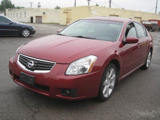 2007 Nissan Maxima for sale at ELITE AUTOMOTIVE in Euclid OH