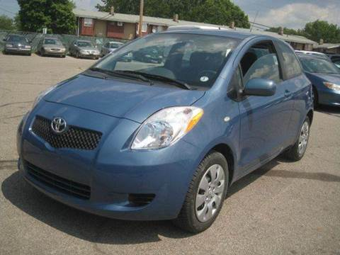 2008 Toyota Yaris for sale at ELITE AUTOMOTIVE in Euclid OH