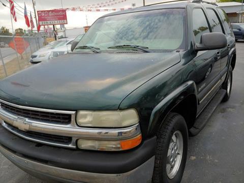 2002 Chevrolet Tahoe for sale in San Antonio, TX