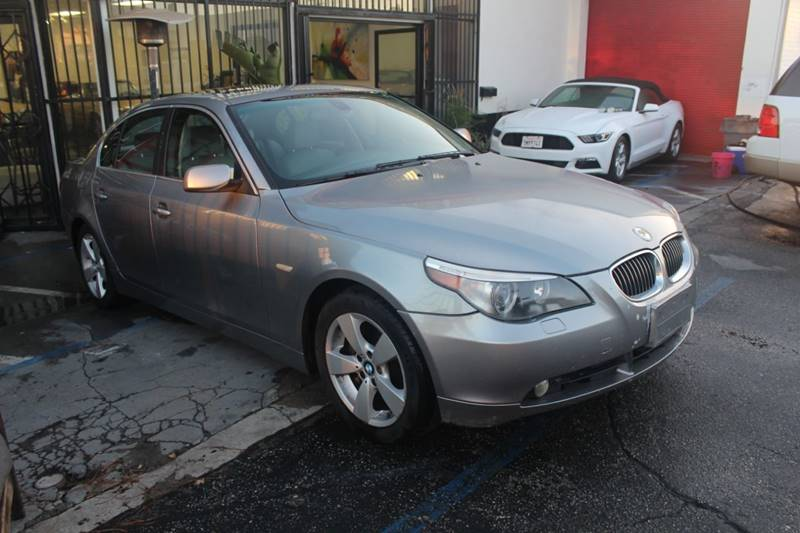 2007 BMW 5 Series for sale at United Automotive Network in Los Angeles CA