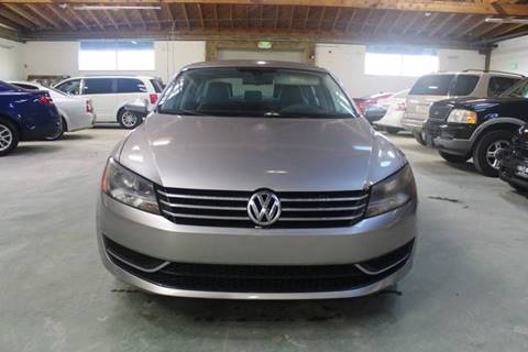 2012 Volkswagen Passat for sale at United Automotive Network in Los Angeles CA