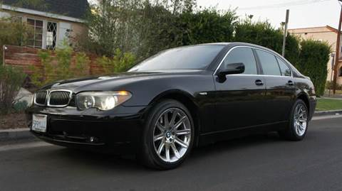 2003 BMW 7 Series for sale at United Automotive Network in Inglewood CA