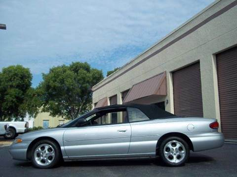 2000 Chrysler Sebring for sale at Love's Auto Group in Boynton Beach FL