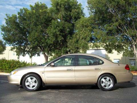 2000 Ford Taurus for sale at Love's Auto Group in Boynton Beach FL