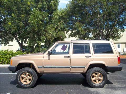 1999 Jeep Cherokee for sale at Love's Auto Group in Boynton Beach FL