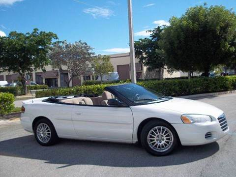 2004 Chrysler Sebring for sale at Love's Auto Group in Boynton Beach FL