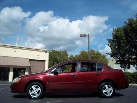 2003 Saturn Ion for sale at Love's Auto Group in Boynton Beach FL