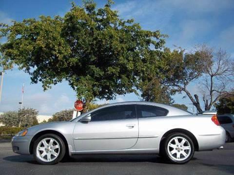 2002 Chrysler Sebring for sale at Love's Auto Group in Boynton Beach FL