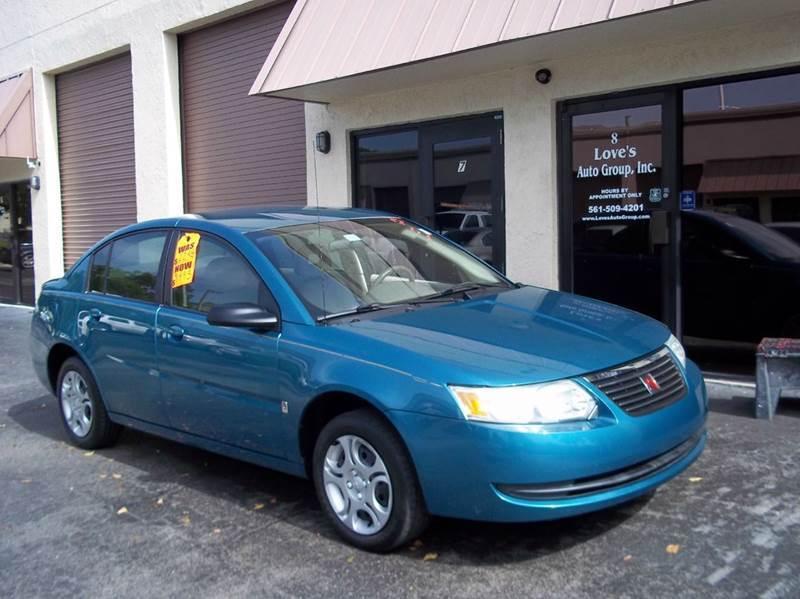 2005 Saturn Ion for sale at Love's Auto Group in Boynton Beach FL