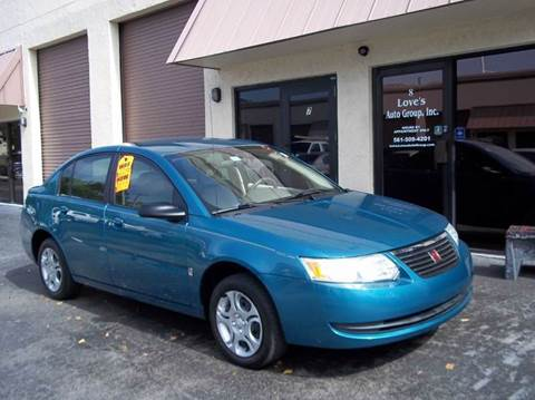 2005 Saturn Ion for sale at Love's Auto Group in Boynton Beach FL