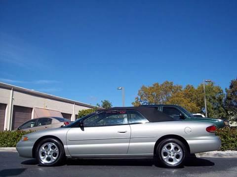 2000 Chrysler Sebring for sale in Boynton Beach, FL