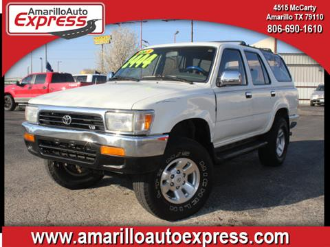1995 Toyota 4Runner for sale in Amarillo, TX