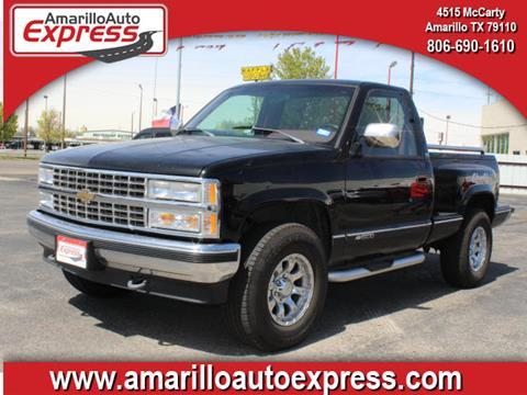 1991 Chevrolet C/K 1500 Series for sale in Amarillo, TX
