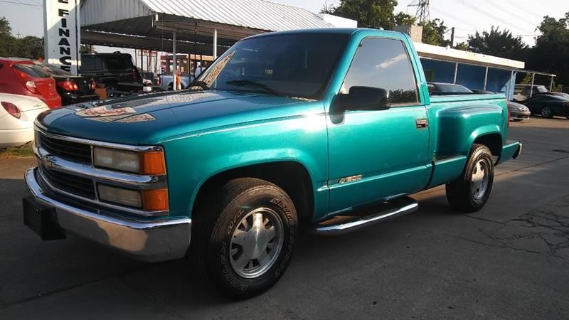 1995 Chevrolet Silverado 1500 for sale at Affordable Auto Spot in Houston TX