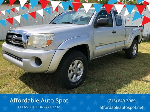 2005 Toyota Tacoma for sale at Affordable Auto Spot 2 in Houston TX