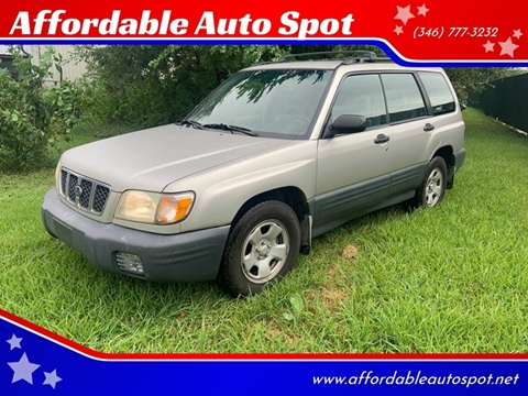2001 Subaru Forester for sale in Houston, TX
