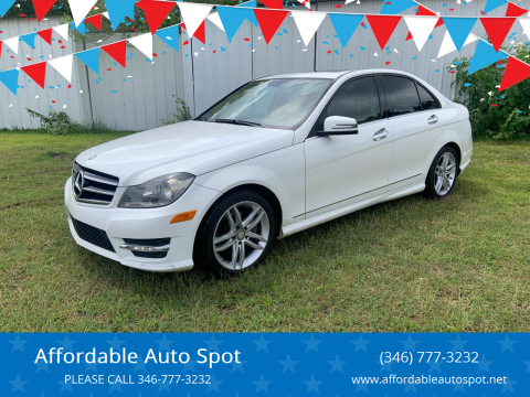 2014 Mercedes-Benz C-Class for sale at Affordable Auto Spot in Houston TX