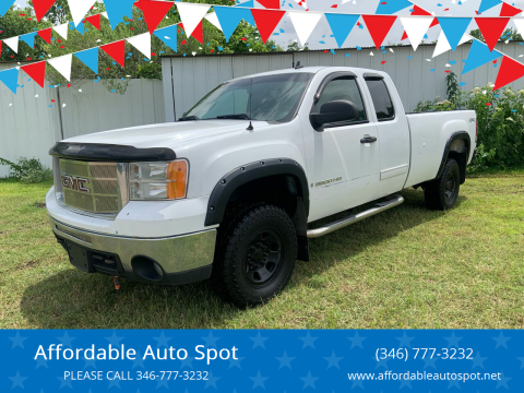 2008 GMC Sierra 3500HD for sale at Affordable Auto Spot in Houston TX