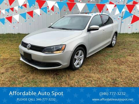 2011 Volkswagen Jetta for sale at Affordable Auto Spot in Houston TX