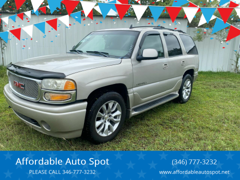 2006 GMC Yukon for sale at Affordable Auto Spot in Houston TX