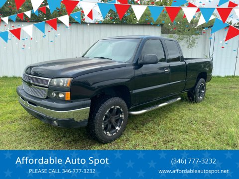 2007 Chevrolet Silverado 1500 Classic for sale at Affordable Auto Spot in Houston TX