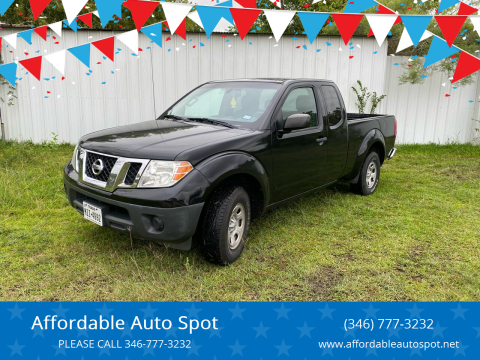 2016 Nissan Frontier for sale at Affordable Auto Spot in Houston TX