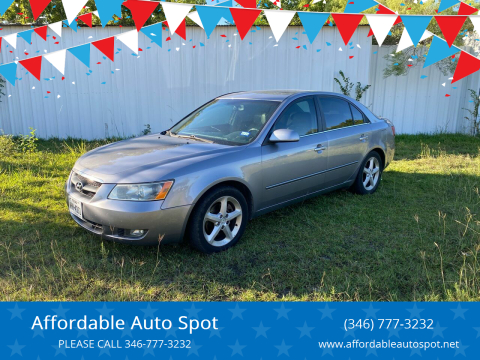 2006 Hyundai Sonata for sale at Affordable Auto Spot in Houston TX