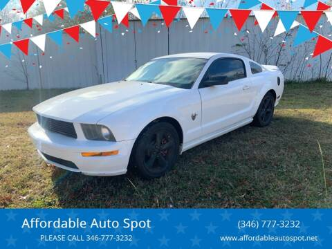 2009 Ford Mustang for sale at Affordable Auto Spot in Houston TX