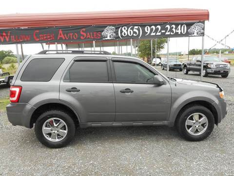 2010 Ford Escape for sale at Willow Creek Auto Sales in Knoxville TN