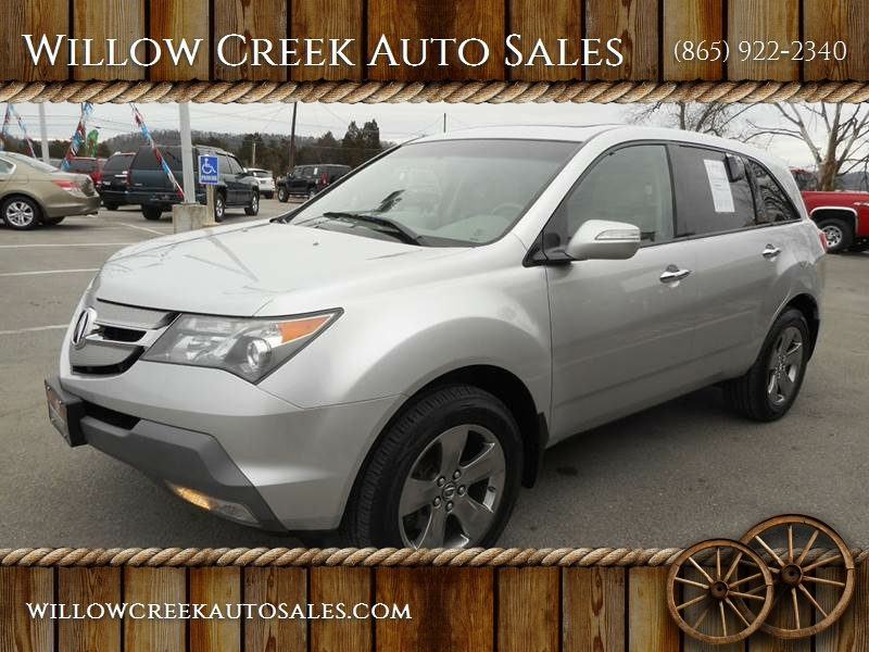 Acura Mdx SHAWD WSport Dr SUV Package In Knoxville TN - 2007 acura mdx sport shocks