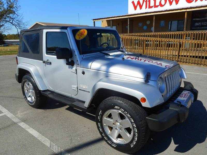 2009 Jeep Wrangler Sahara 4x4 2dr SUV   Knoxville TN