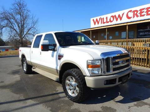 2008 Ford F-250 Super Duty for sale at Willow Creek Auto Sales in Knoxville TN