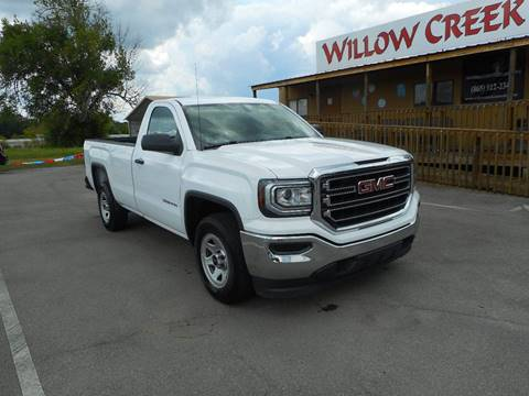 2017 GMC Sierra 1500 for sale at Willow Creek Auto Sales in Knoxville TN
