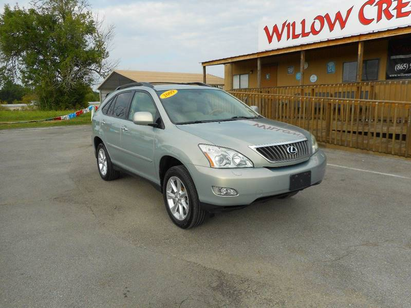 2009 Lexus RX 350 for sale at Willow Creek Auto Sales in Knoxville TN