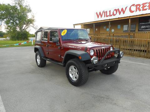 2007 Jeep Wrangler Unlimited for sale at Willow Creek Auto Sales in Knoxville TN