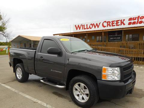 2010 Chevrolet Silverado 1500 for sale at Willow Creek Auto Sales in Knoxville TN