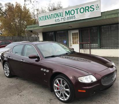 2007 Maserati Quattroporte for sale at International Motors Inc. in Nashville TN