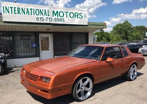 1986 Chevrolet Monte Carlo for sale in Nashville, TN