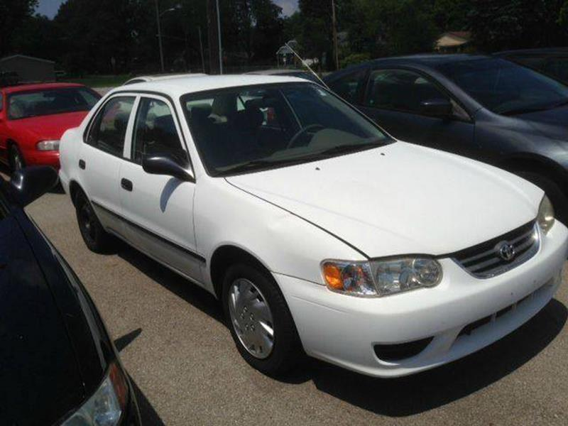 2001 Toyota Corolla Ce 4dr Sedan In Toledo Oh Royal Motors