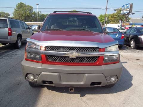2002 Chevrolet Avalanche for sale in Toledo, OH