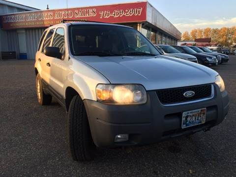 2006 Ford Escape for sale at LUXURY IMPORTS AUTO SALES INC in North Branch MN