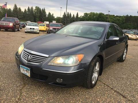2005 Acura RL for sale at LUXURY IMPORTS AUTO SALES INC in North Branch MN