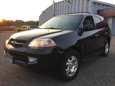 2001 Acura MDX for sale at LUXURY IMPORTS AUTO SALES INC in North Branch MN