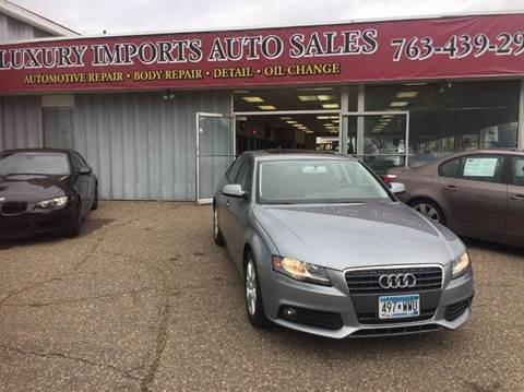 2010 Audi A4 for sale at LUXURY IMPORTS AUTO SALES INC in North Branch MN