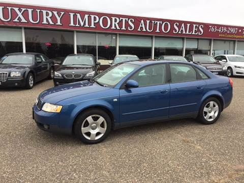 2002 Audi A4 for sale at LUXURY IMPORTS AUTO SALES INC in North Branch MN