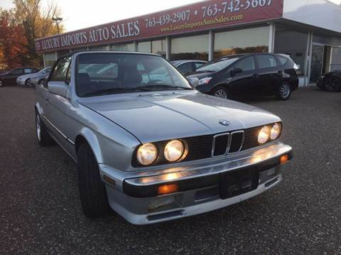 1987 BMW 3 Series for sale at LUXURY IMPORTS AUTO SALES INC in North Branch MN