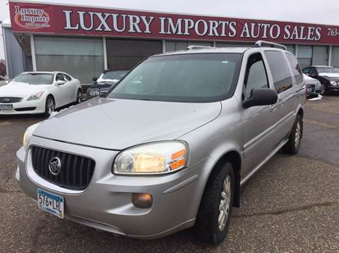 2006 Buick Terraza for sale at LUXURY IMPORTS AUTO SALES INC in North Branch MN