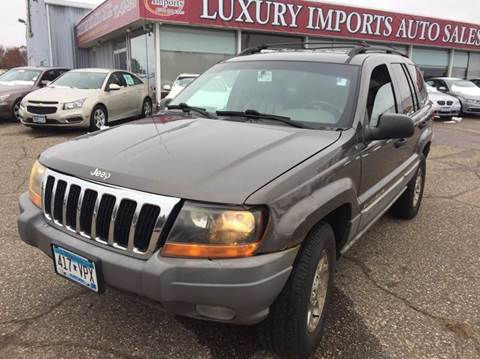 2000 Jeep Grand Cherokee for sale at LUXURY IMPORTS AUTO SALES INC in North Branch MN