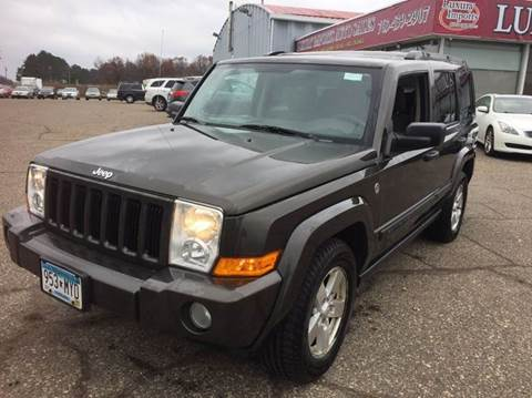 2006 Jeep Commander for sale at LUXURY IMPORTS AUTO SALES INC in North Branch MN