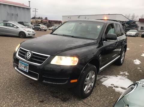 2004 Volkswagen Touareg for sale at LUXURY IMPORTS AUTO SALES INC in North Branch MN